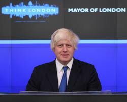 Boris Johnson Sunny In London