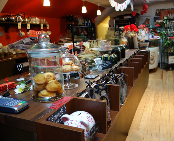 Camellias Tea House Carnaby London