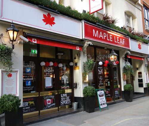 Maple-Leaf-Pub-Covent-Garden