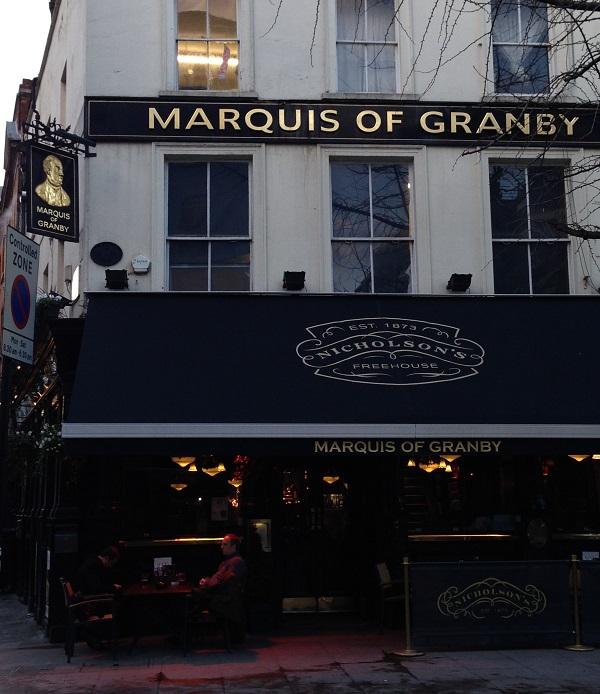 Marquis of Granby Pub London