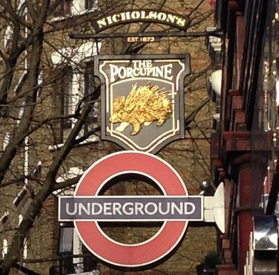 Porcupine Pub London