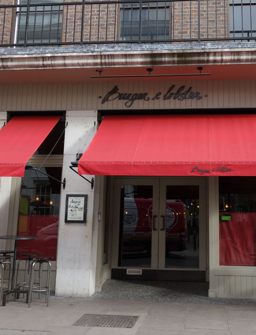Burger and Lobster London Review