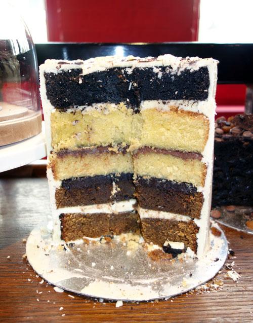 Choccywoccydoodah Taster Cake