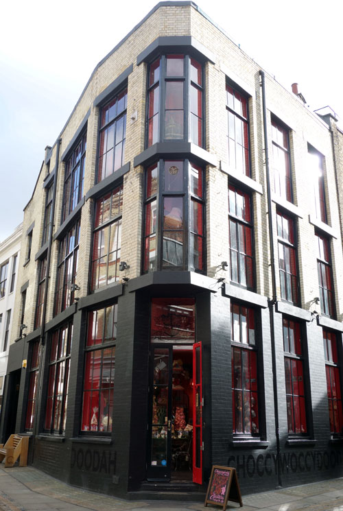 Choccywoccydoodah London Carnaby Street