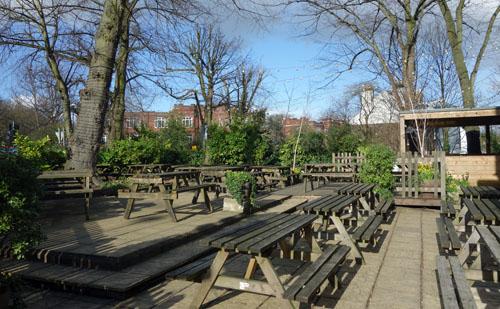 Highgate Pub Crawl Woodman Pub Highgate (6)