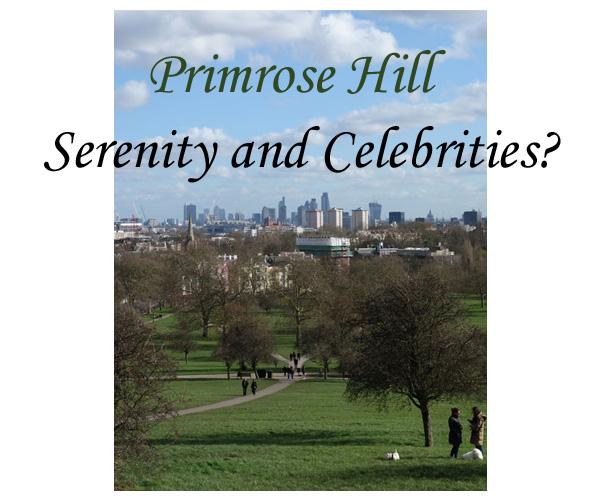 Primrose Hill Celebrities