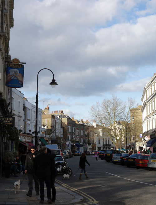 Primrose Hill London Regent's Park Road