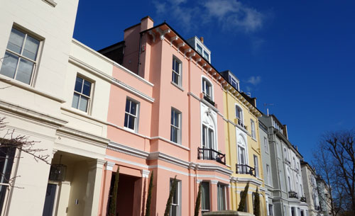 Primrose Hill London houses
