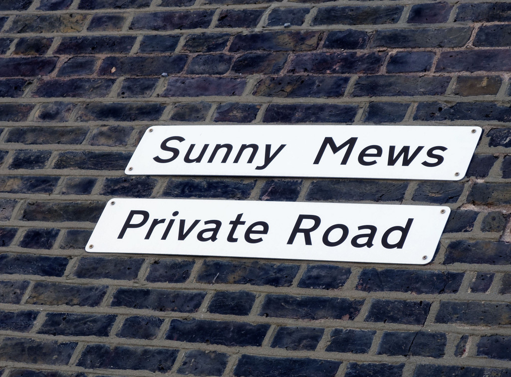 Sunny Mews Primrose Hill London