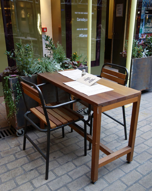 Whyte and Brown Restaurant Review London