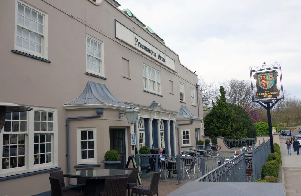 Hampstead Pub Crawl Freemasons Arms