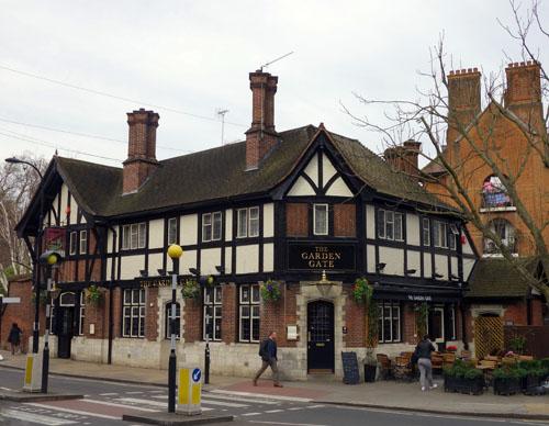 Hampstead Pub Crawl Garden Gate
