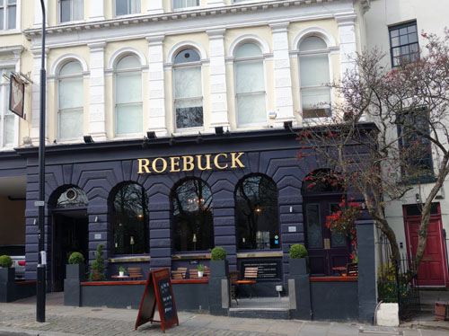 Hampstead Pub Crawl Roebuck