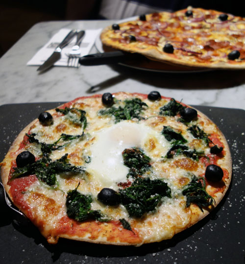 Using a Tastecard at Pizza Express