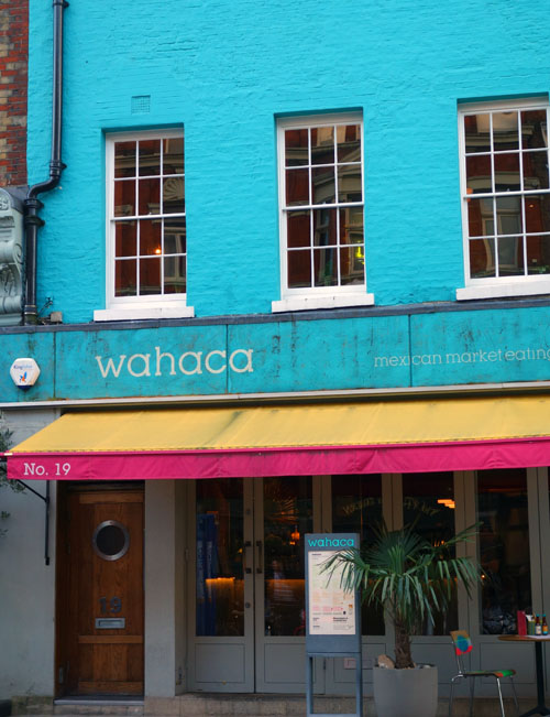 Wahaca Review Charlotte Street London