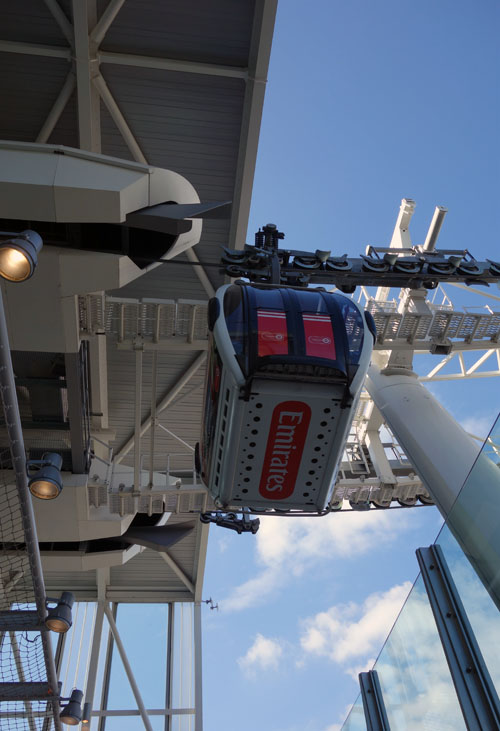 Emirates Cable Car London DLR (2)