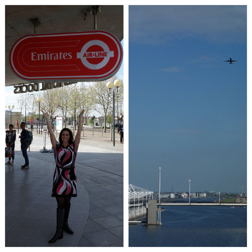 Emirates Cable Car London DLR