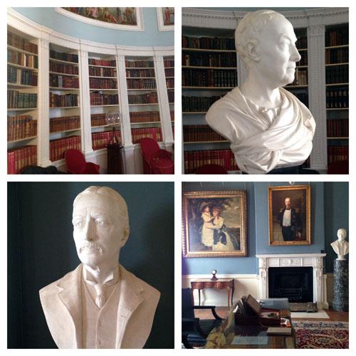Kenwood House Adam Library and Spaniards Inn