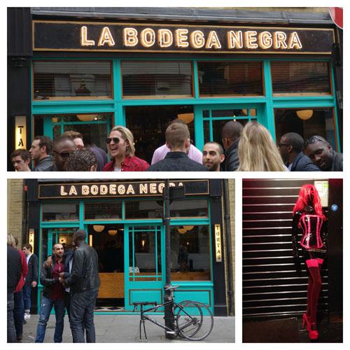 London Bloggers La Bodega Negra