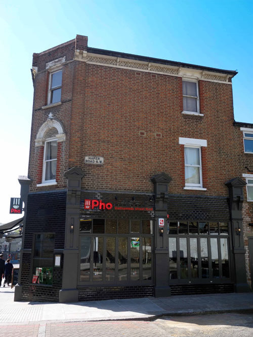 Pho Restaurant London Clapham