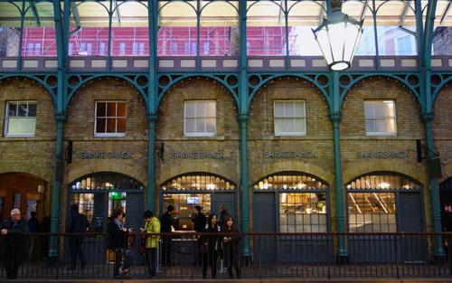 Shake Shack London Covent Garden