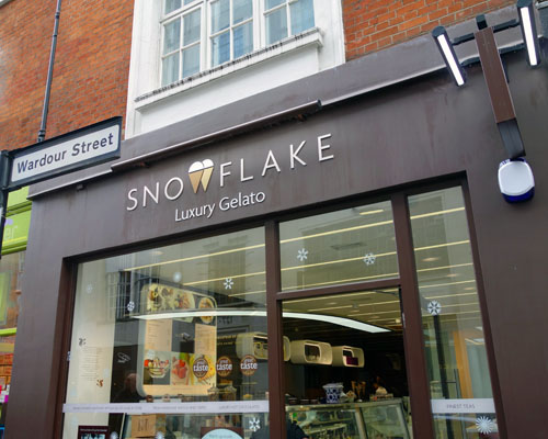Snowflake Sunny London