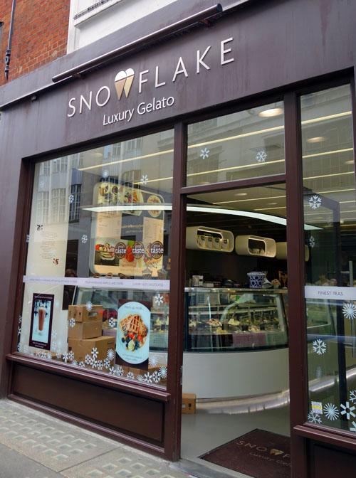 Snowflake Gelato Sunny London