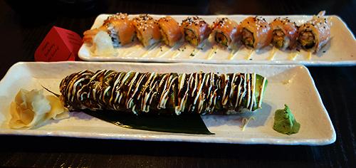 Cocochan Dragon Eel and Avacado Ura Maki