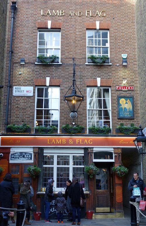 Lamb and Flag Pub London