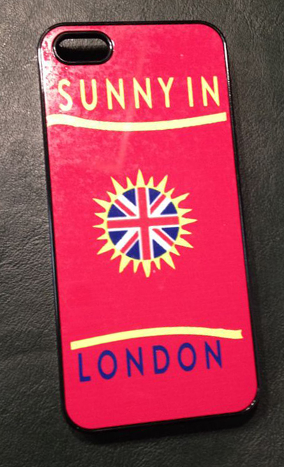 Sunny in London Blog Giveaway Phone Cover