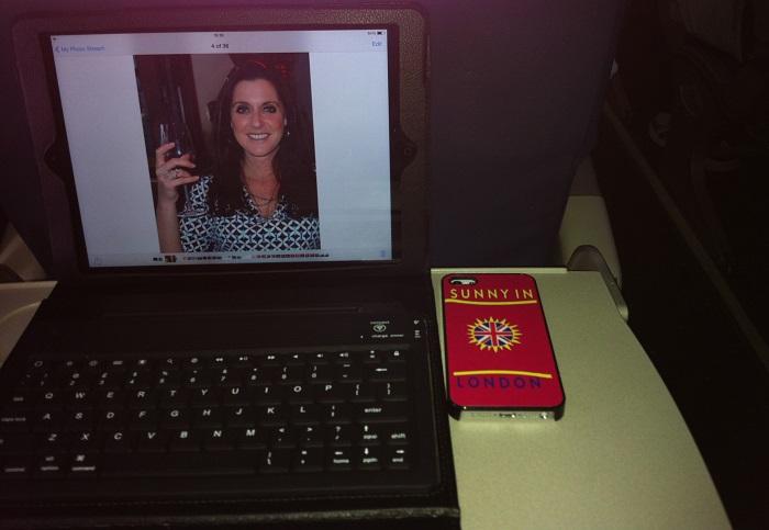 Blogging on a Plane