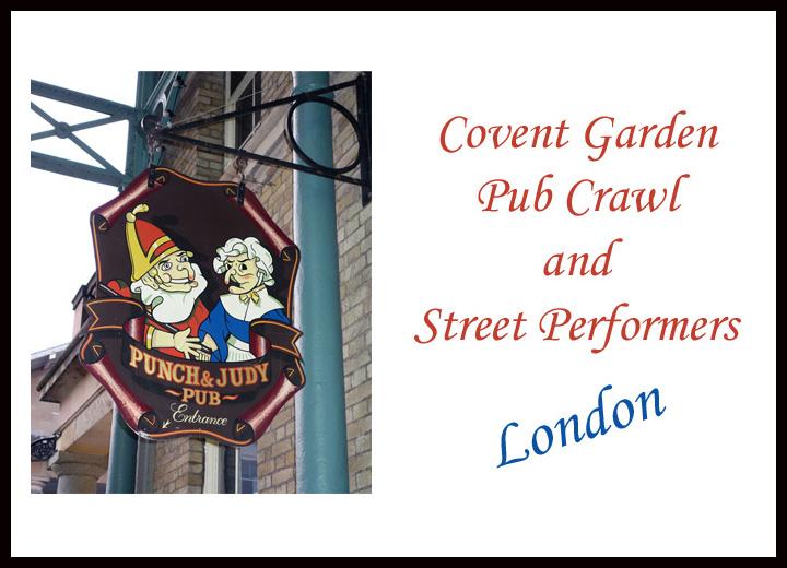 Covent Garden Pub Crawl