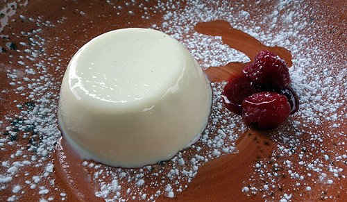 Guildford Arms Greenwich Panna Cotta