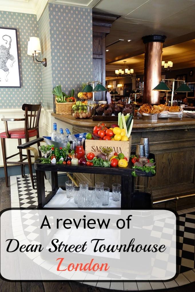 Dean Street Townhouse Review