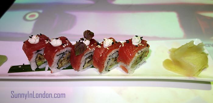 Inamo Restaurant London Tuna Maki