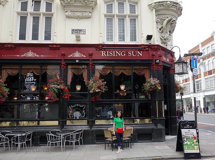 Pubs in London Sun Pub Crawl