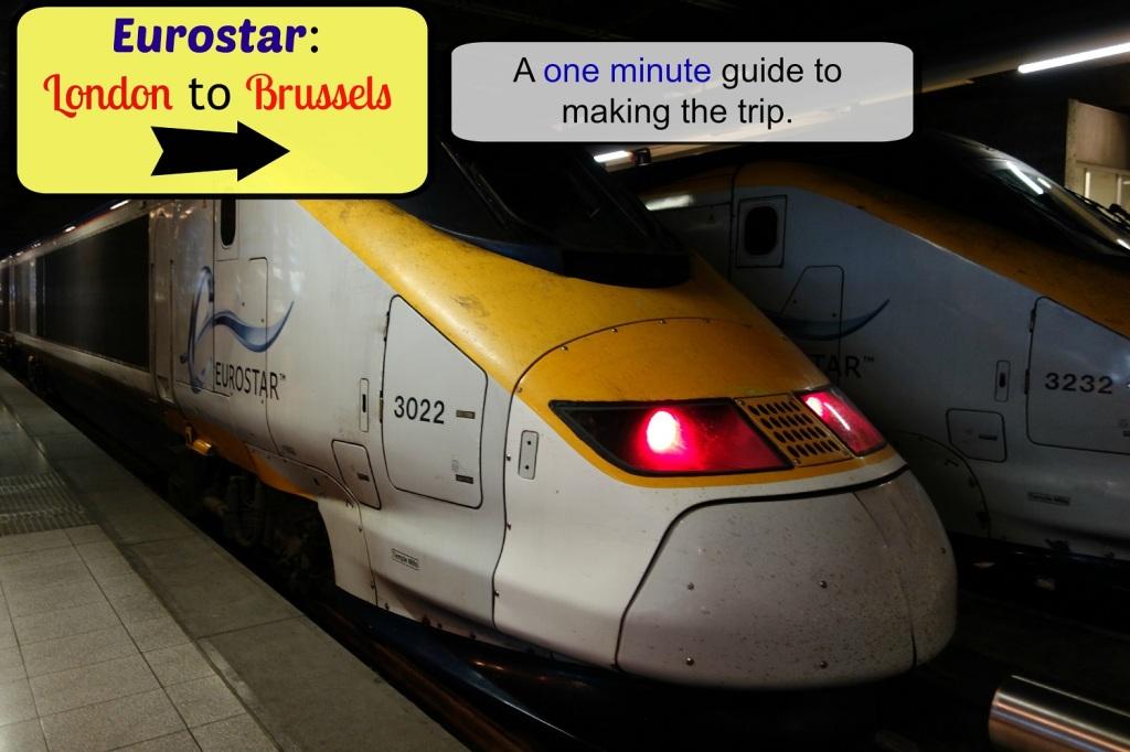 Eurostar London to Brussels