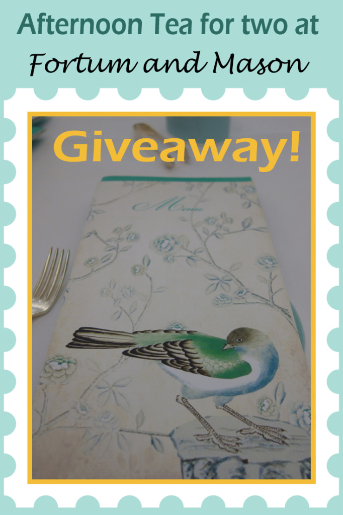 Fortnum and Mason Afternoon Tea Giveaway