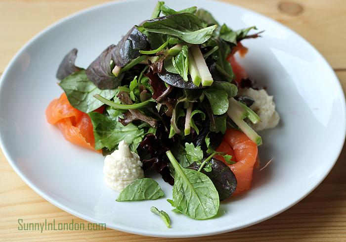 Print House Bar & Kitchen Stratford London Salmon