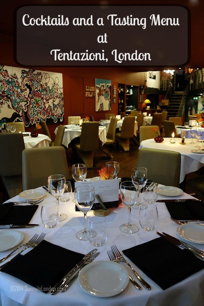 Tentazioni Restaurant London Bermondsey