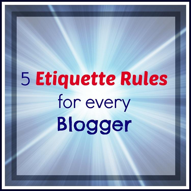 Blogger-Etiquette-Rules