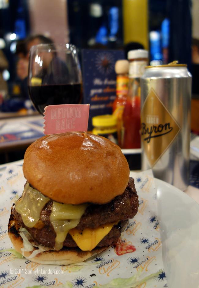 Bryon Burger London Review