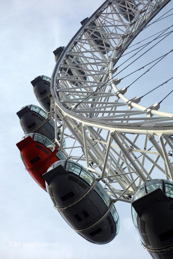 Best Views in London- The London Eye