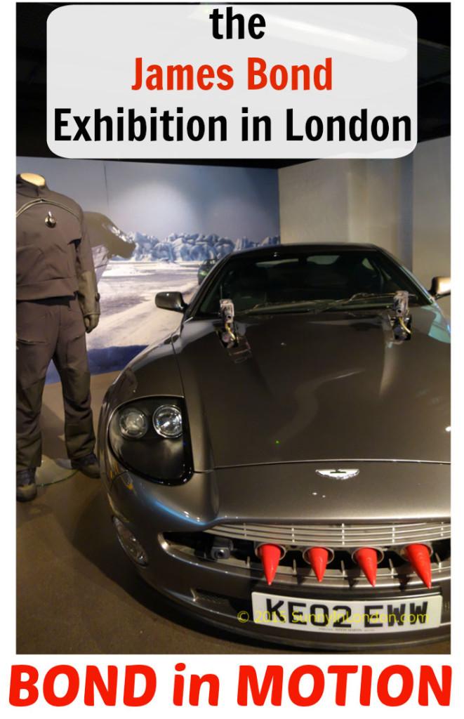 007 James Bond in Motion Exhibition London Covent Garden