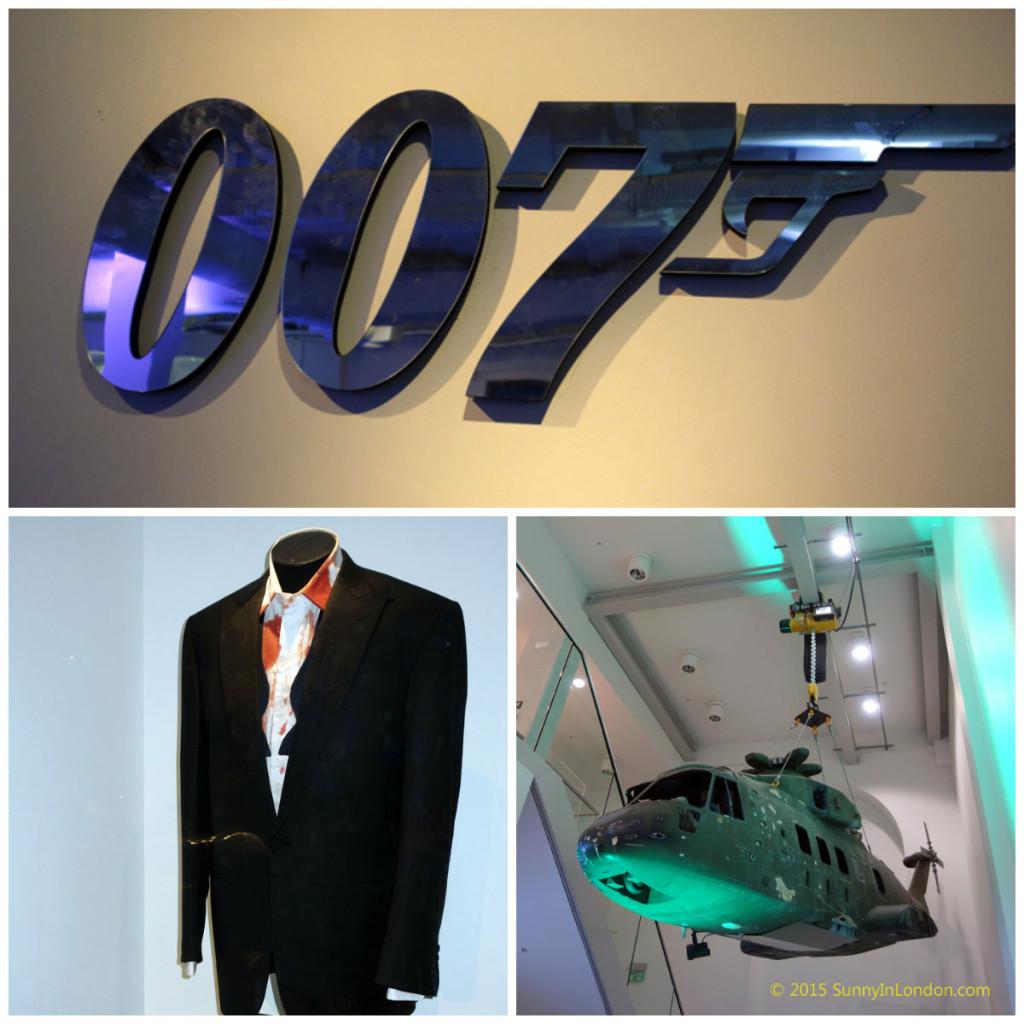 James Bond in Motion Exhibition London Covent Garden