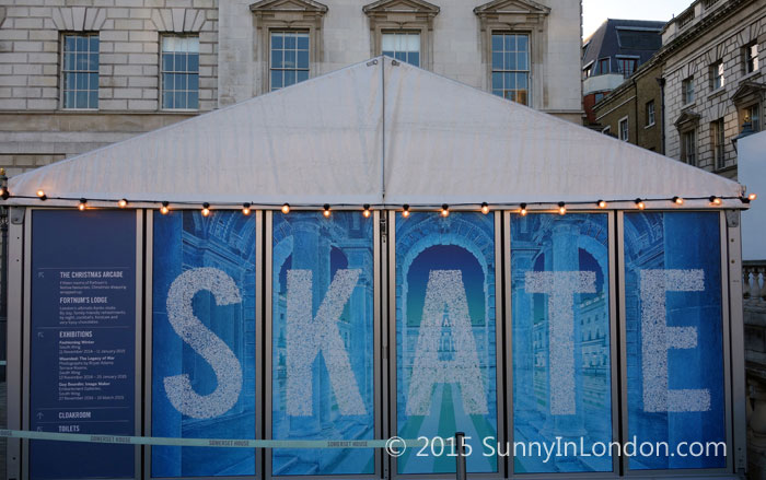 Things to Do in London at Christmas Ice Skating at Somerset House