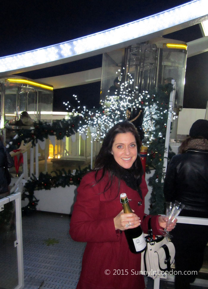 Things to Do in London at Christmas Winter Wonderland VIP Wheel Experience