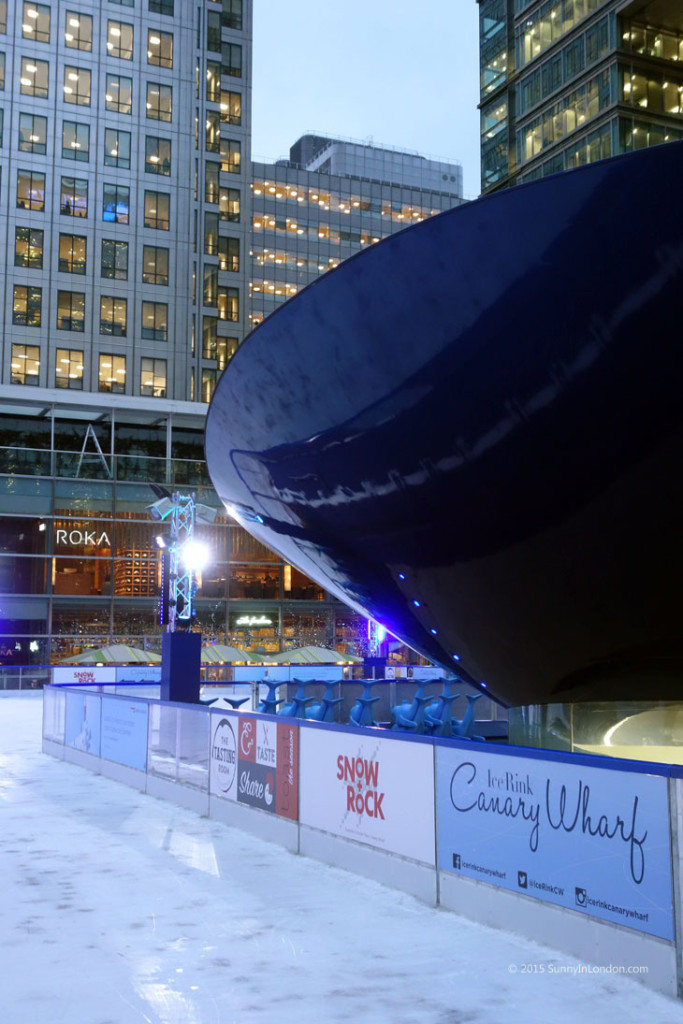 5 Best Places for Ice Skating in London for Christmas Canary Wharf