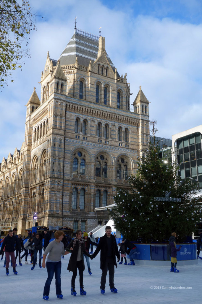 5 Best Places for Ice Skating in London for Christmas Natural History Museum Swarovski