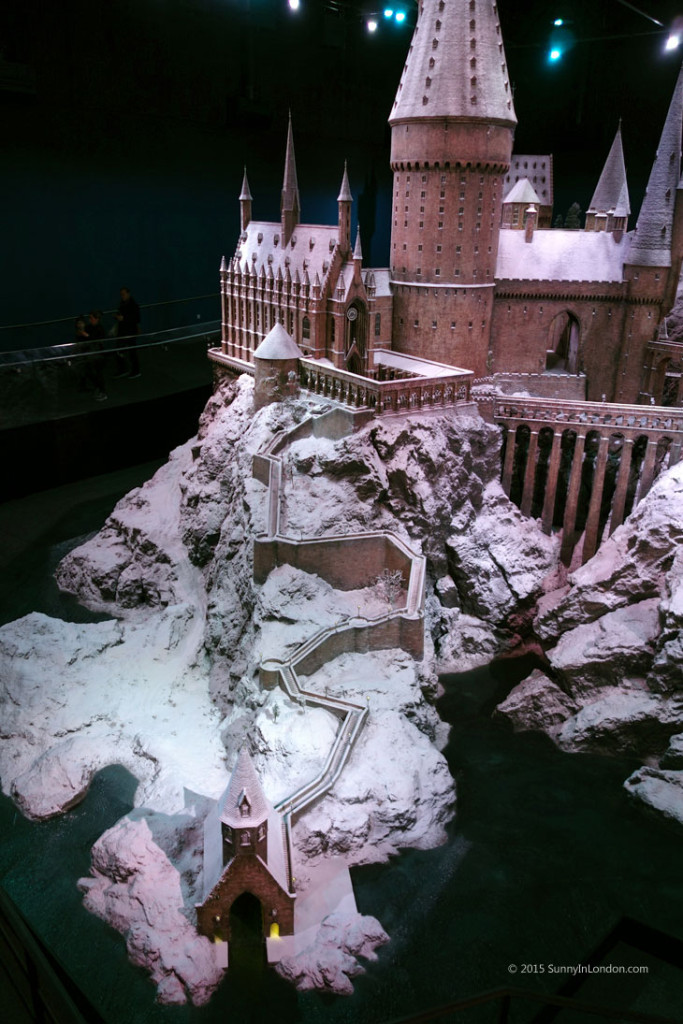 Hogwarts in the Snow Harry Potter Studio Tour in London for Christmas Scale Model